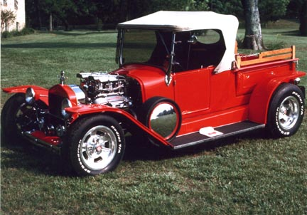 Tom Sanborn's roadster